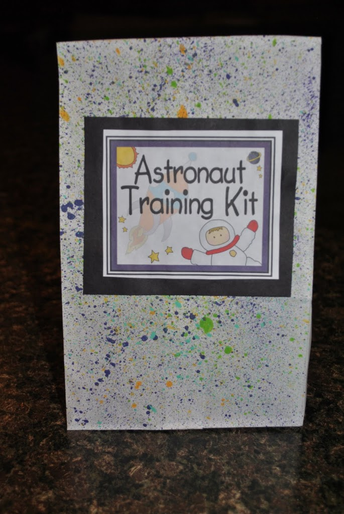 Astronaut space kits for beginning of the year for Outer space classroom decor