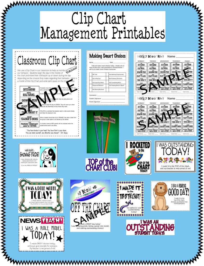 Clip Chart Management Forms