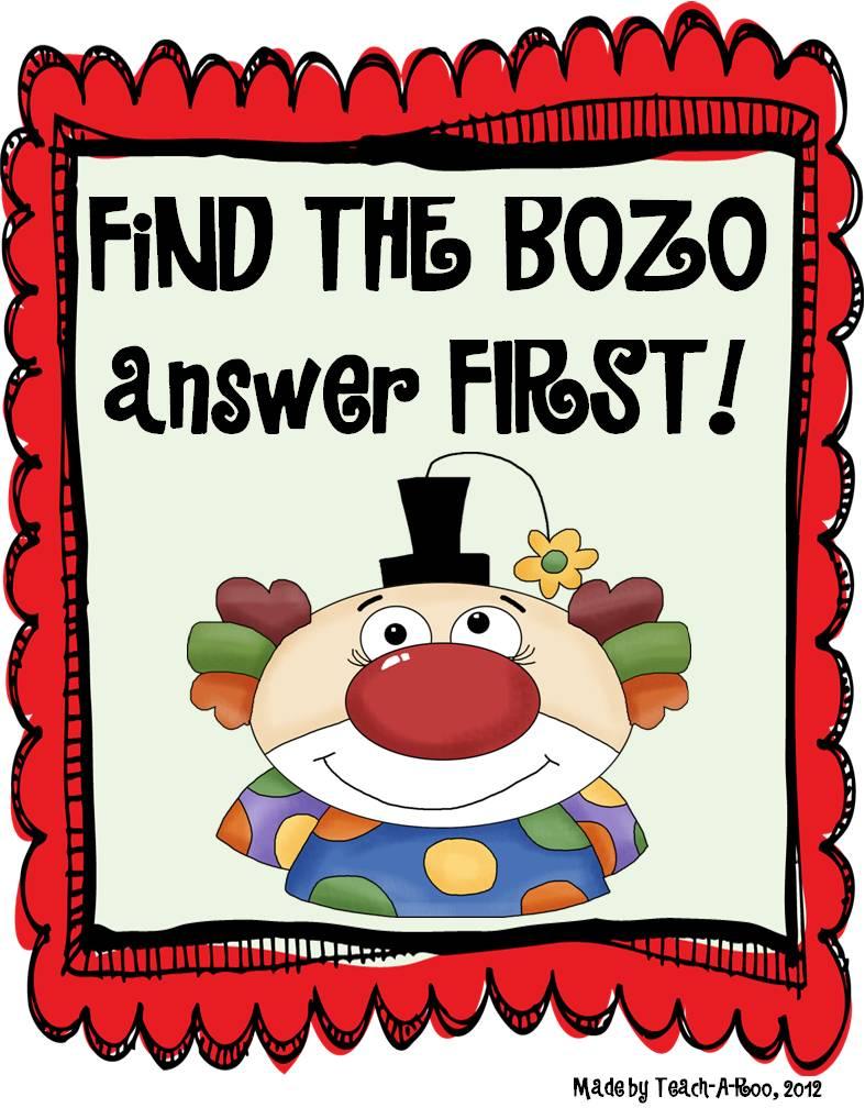 BOZO answers!