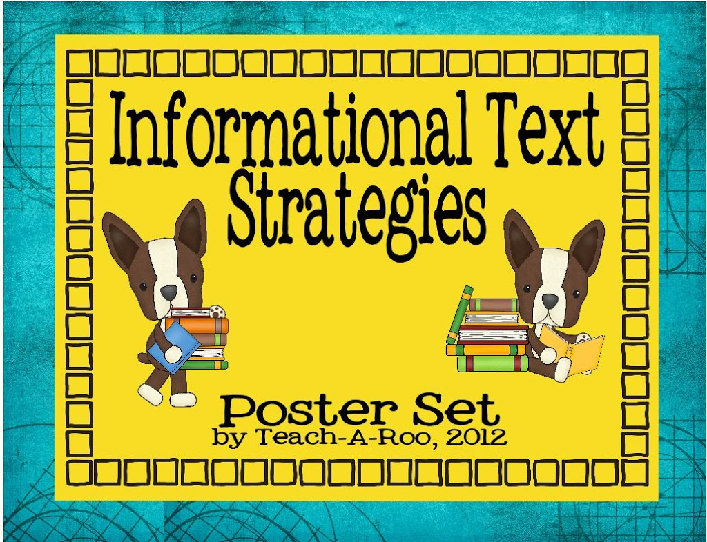 Informational Text Strategy Poster Set