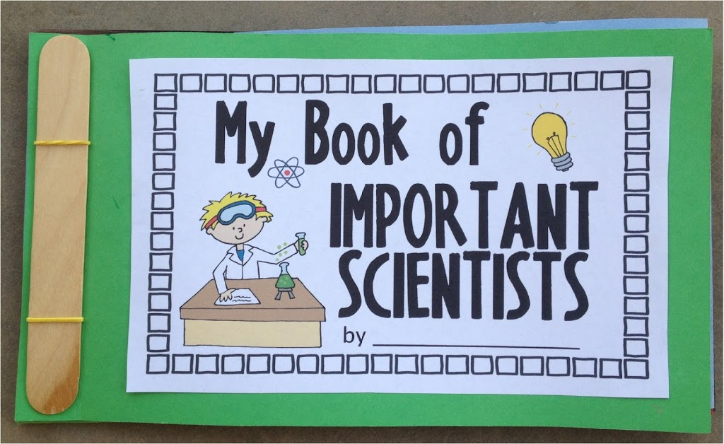 Important Scientist Flap Book- YAY!