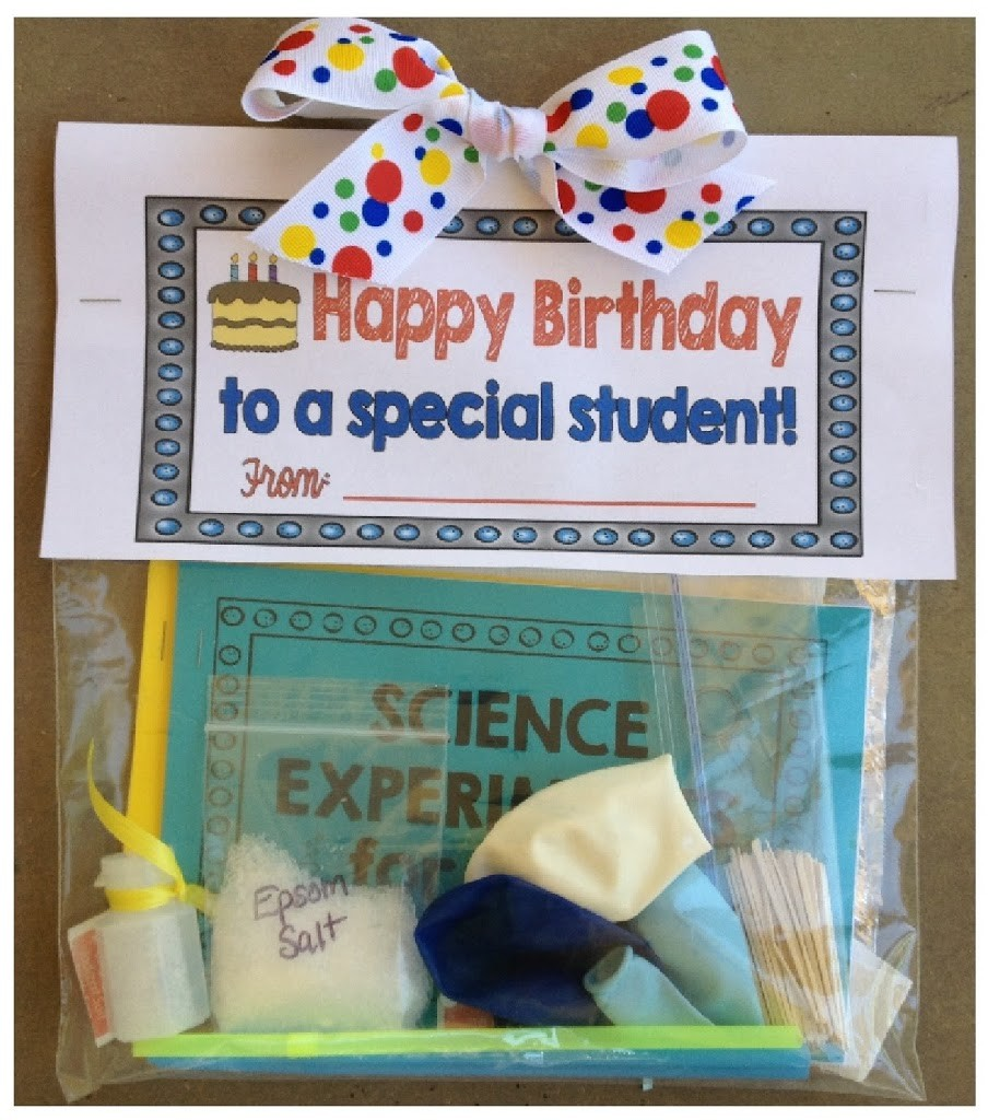 Student Birthday Bag