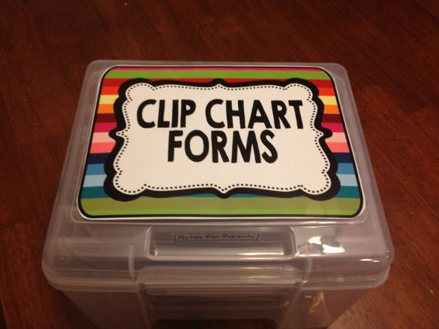 Clip Chart Reward Box