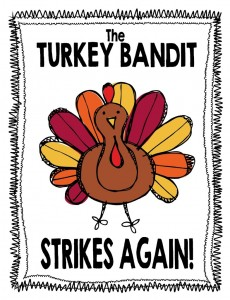 Turkey Bandit Sign