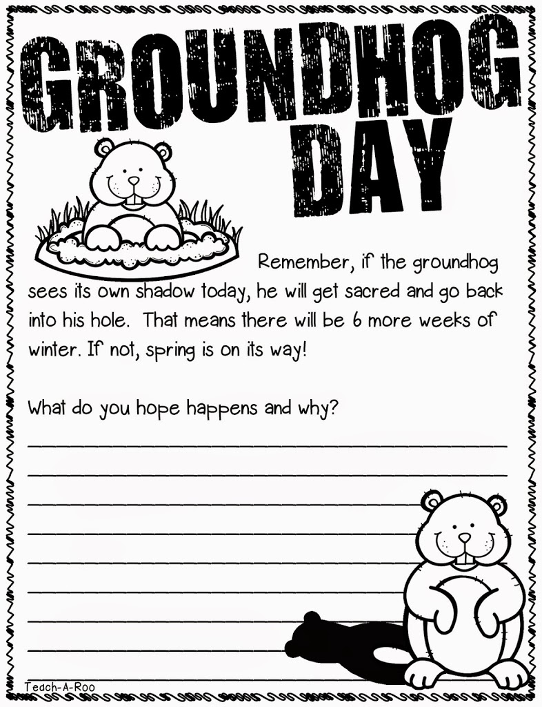 Groundhogs Make Me Giggle!
