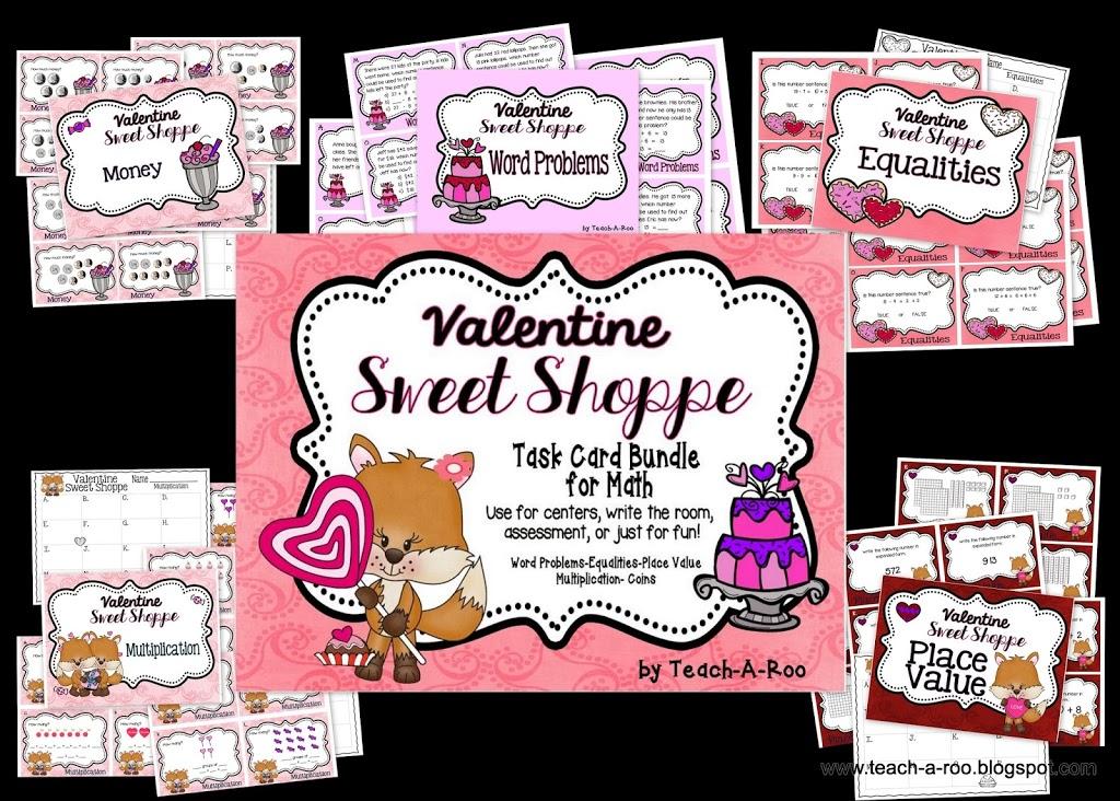 Valentine Task Cards!
