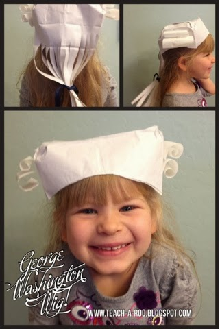 Make George Washington's Wig for President's Day!