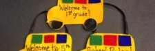 Back to School Bus Favors for Students