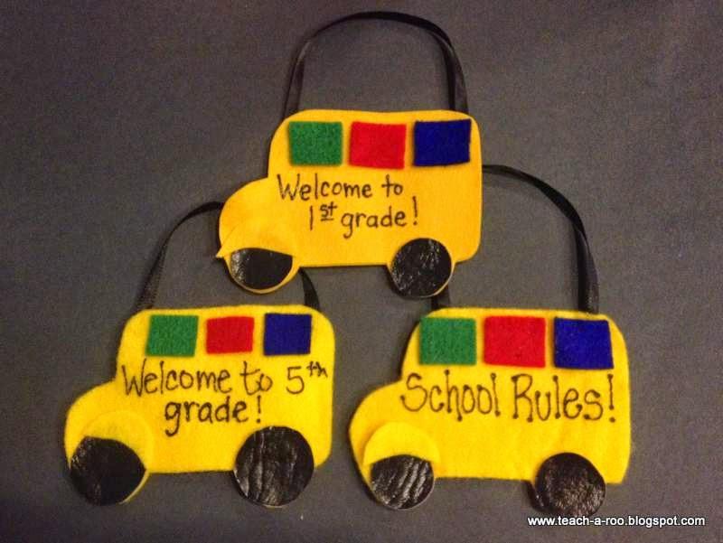 School Bus Pockets!