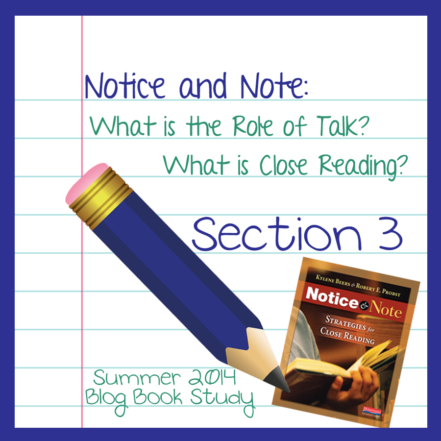 Accountable Talk in Close Reading (Notice and Note)
