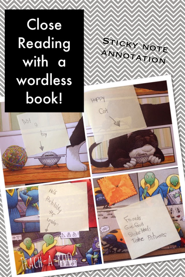 Close Reading With Wordless Books