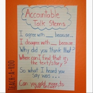 Anchor Chart for Close Reading