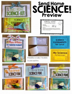 Activities That Your Students Can Take Home And Complete They Are A Great Way To Incorporate Science At Require Very Inexpensive Materials