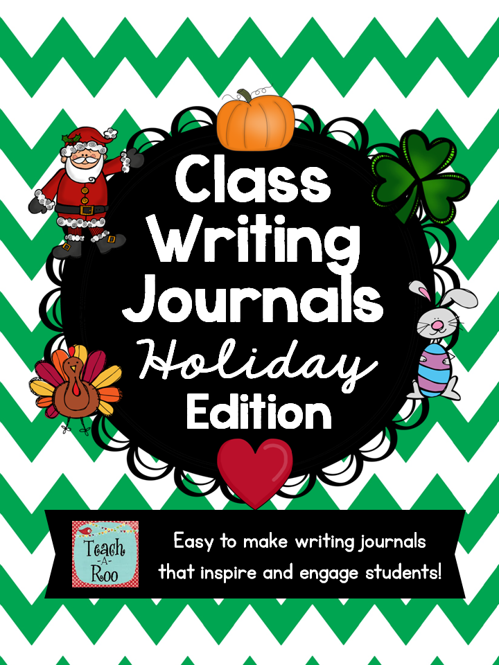 Holiday Class Writing Journals