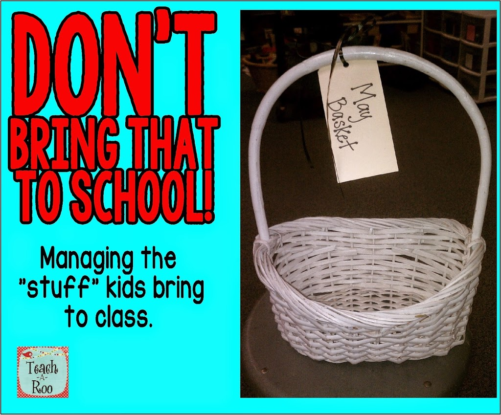 "The ""May"" Basket- A Classroom Management Idea"
