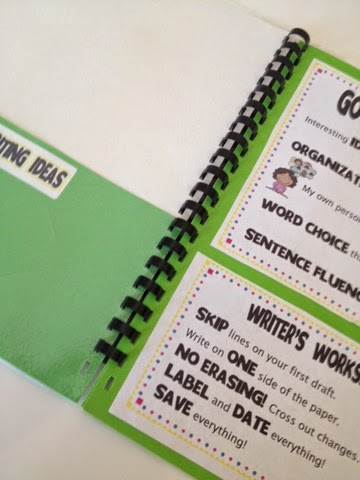Keeping Your Students Organized During Writer's Workshop