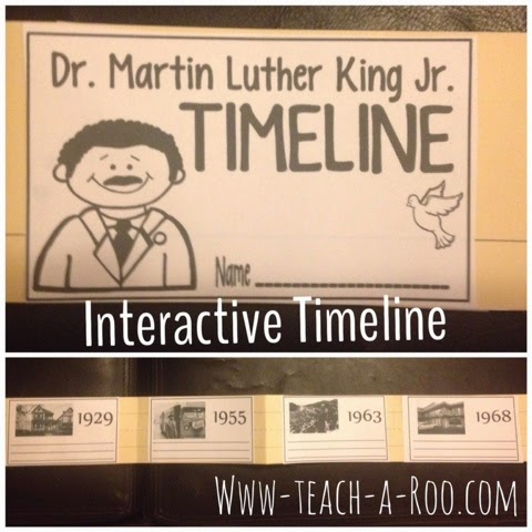 Martin Luther King Jr. Timeline Activity