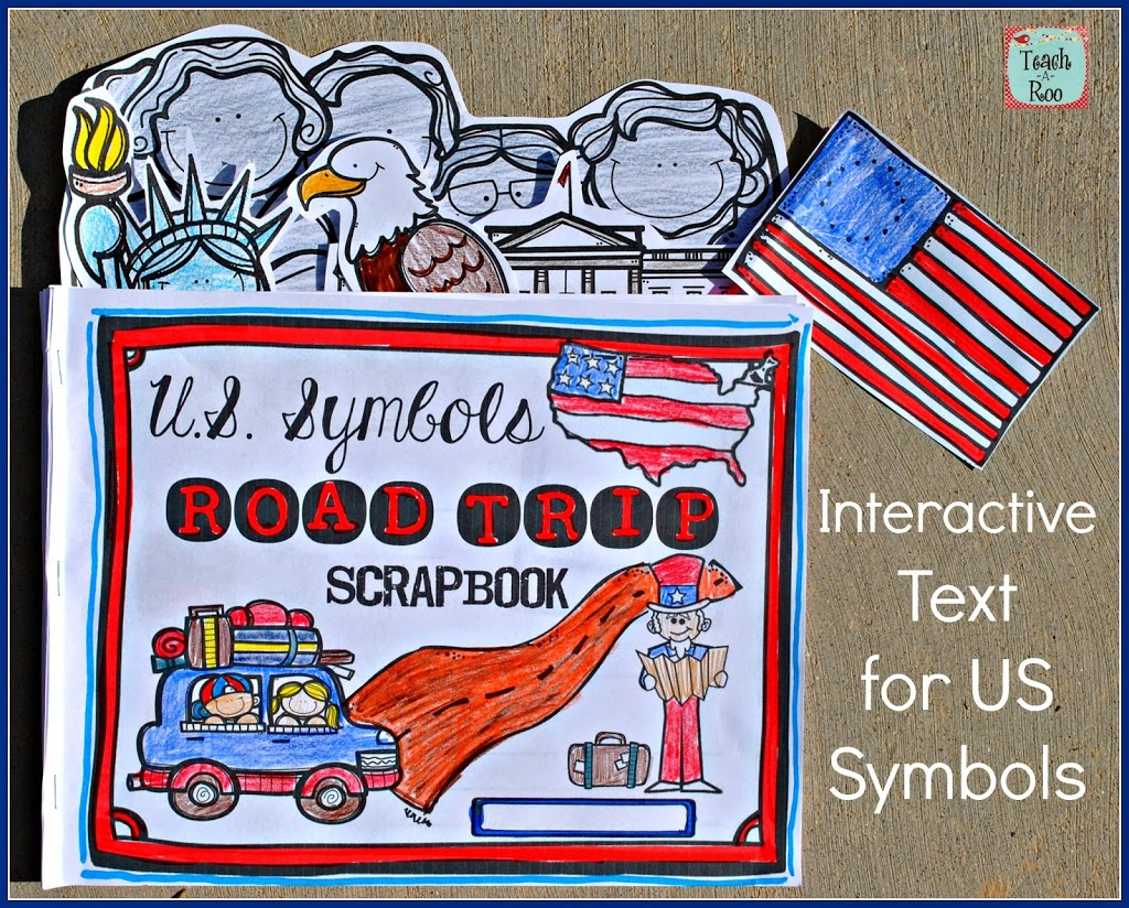 United States Symbols- Road Trip Scrapbook