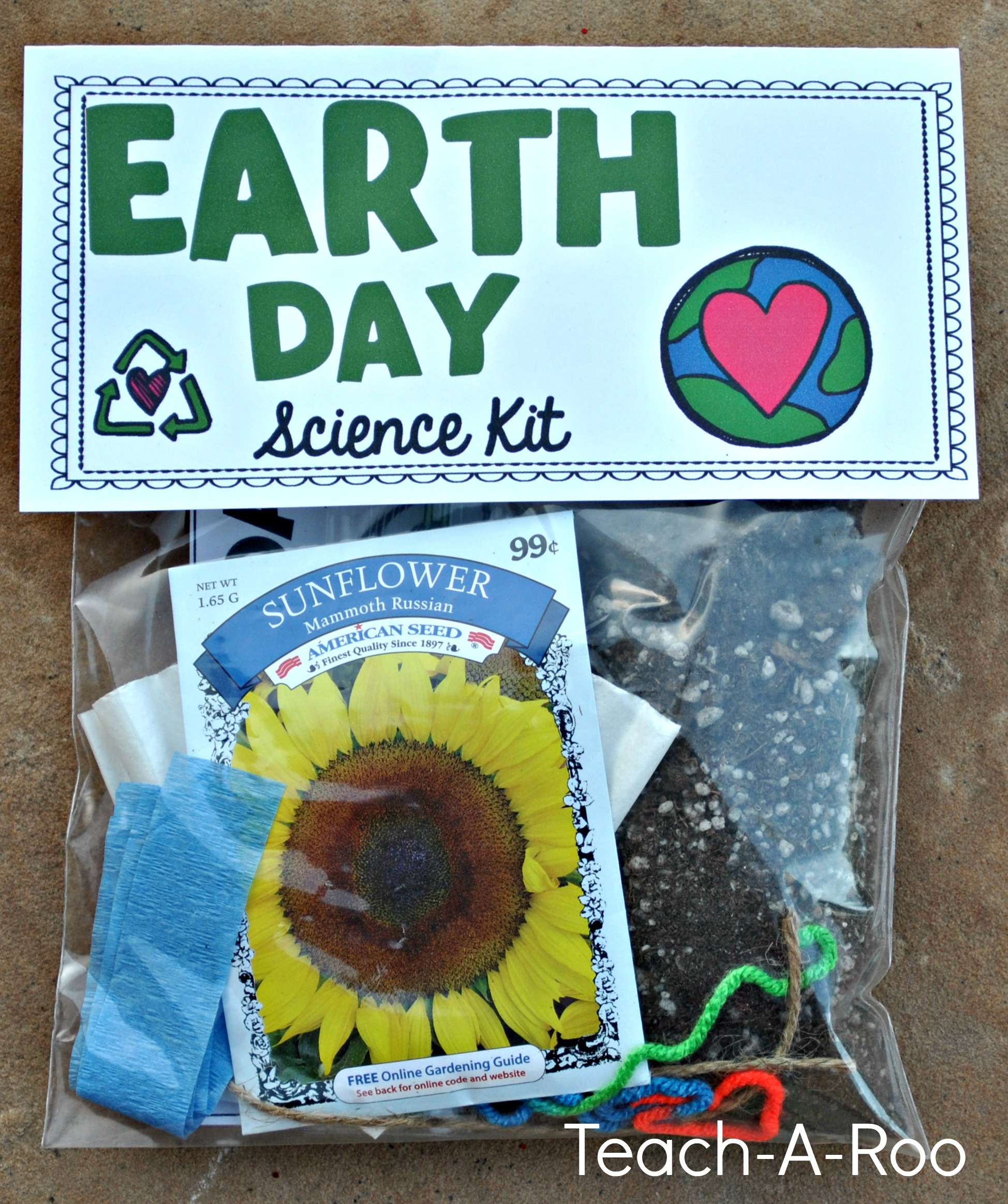 Science activities for Earth day
