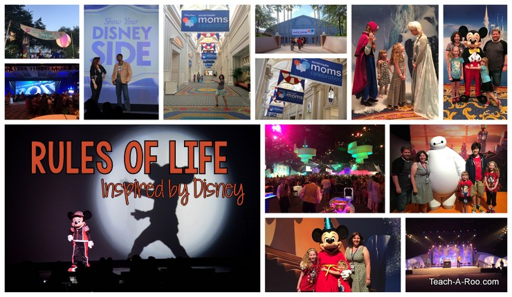 Rules of Life- Things I Learned from Disney Social Media Moms Celebration