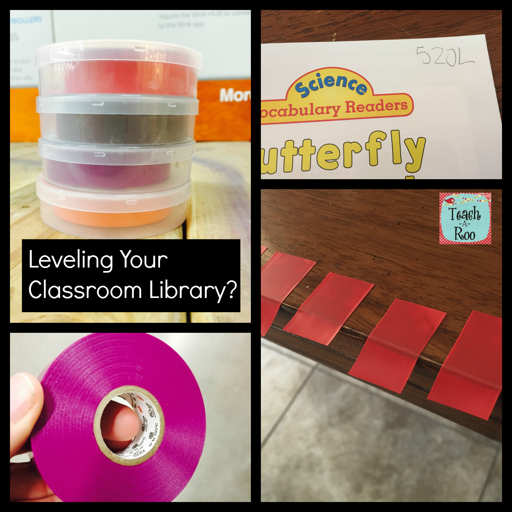 Leveling Classroom Library