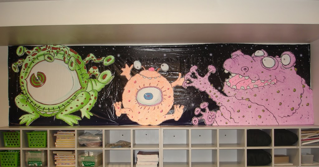 space alien bulletin board
