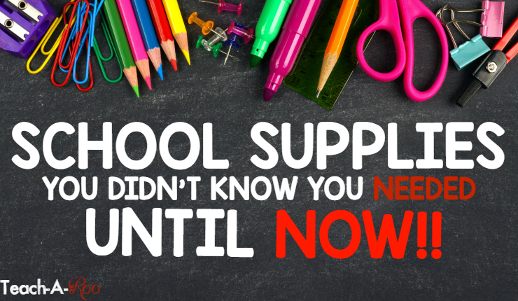 School Supplies You Didn't Know You Needed, Until Now!
